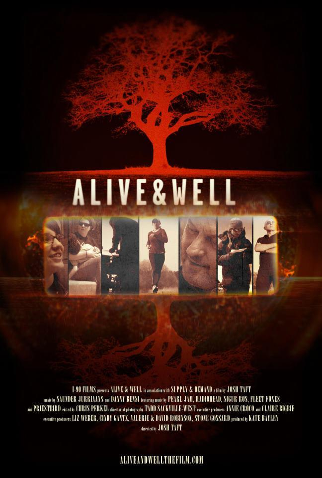 "The promotional poster for ""Alive and Well,"" courtesy of the film's Facebook page."