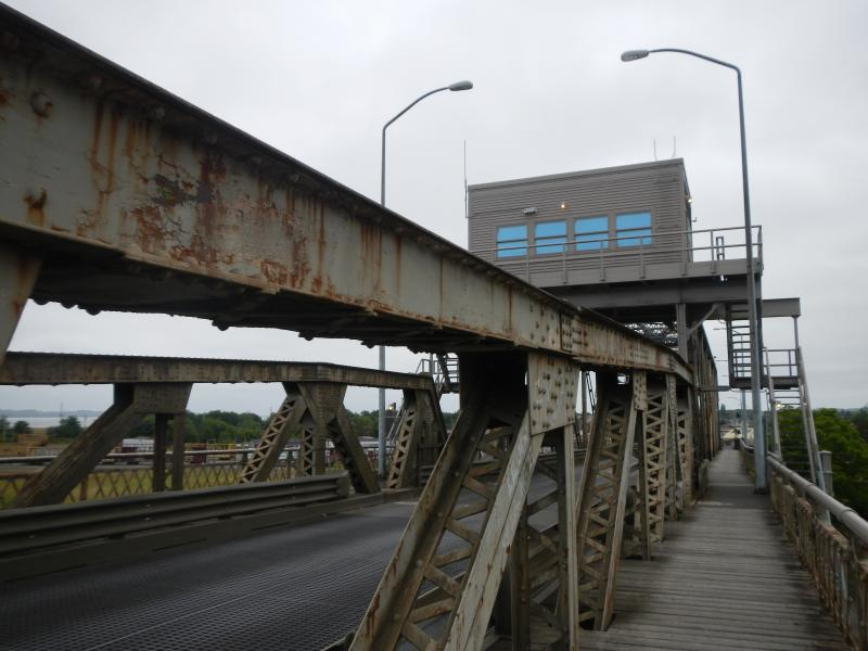 The southbound Highway 101-Simpson Avenue bridge between Hoquiam and Aberdeen is one of the most hit bridges in Washington, and it is also considered fracture-critical.
