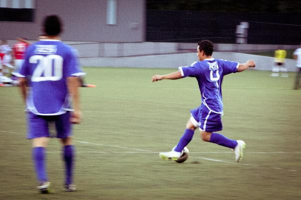 On opening night of the 2012 All Nations Cup, El Salvador faced off against Iran.