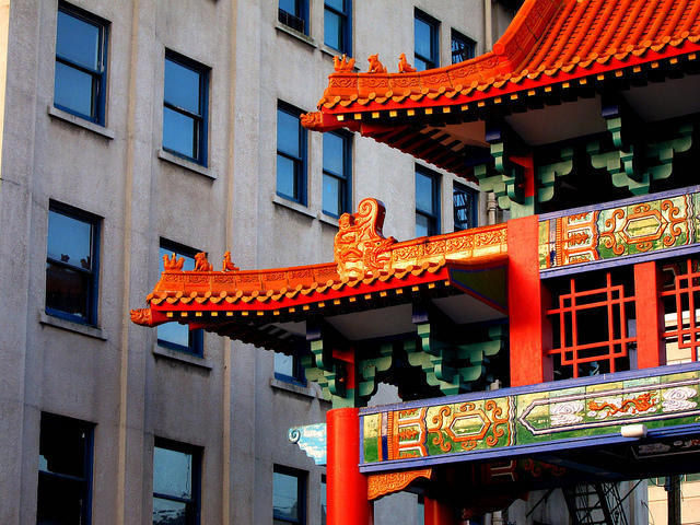 Chinatown International District, Seattle.