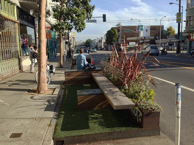 Seattle is taking parklet inspiration from San Francisco, which has parklets in a variety of sizes, styles and functions.