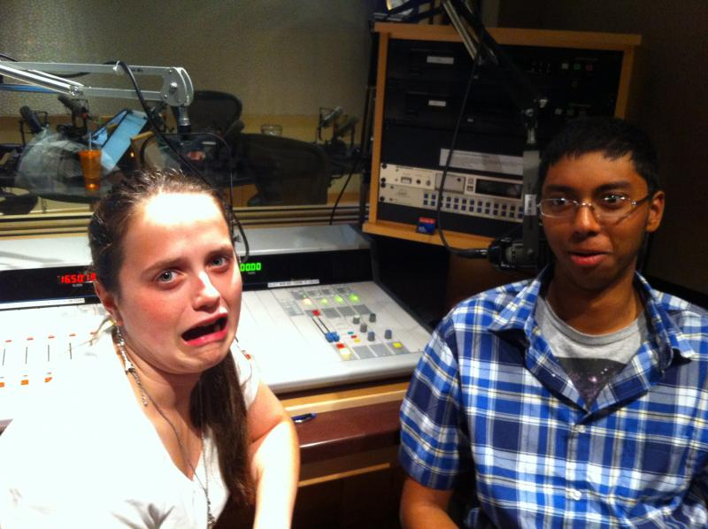 Host Madeline Ewbank was afraid you wouldn't listen to the end of this show. Srikar Penumaka worried the microphones recorded nothing.