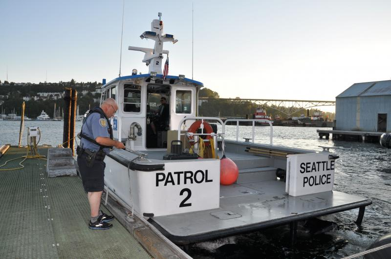 Officer Sylvester is part of the Harbor Patrol Unit that patrols Lake Union, Lake Washington and the Puget Sound. Starting Sunday, the consequences for drunk boating will increase substantially.