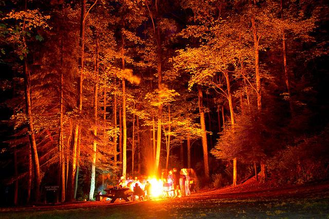 Today's burn ban includes campfires on all DNR land, including in developed campgrounds.