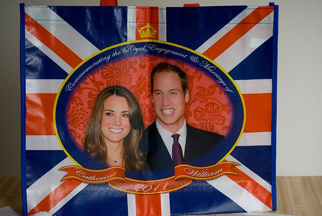 Souvenirs abound for major events in the British royal family: shopping bags for engagements, china plates for weddings or mug sets for babies. Americans certainly are not immune to royal fervor.