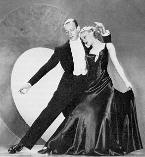 Fred Astaire and Ginger Rogers, Hollywood's most famous dancing duo.