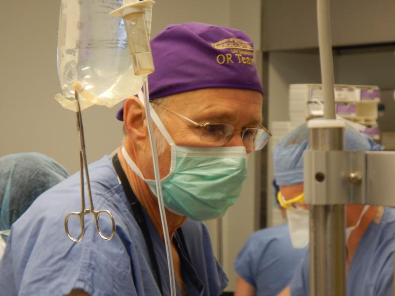 University of Washington surgeon Patch Dellinger.