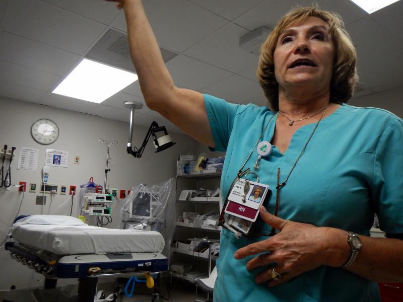 MultiCare Auburn Medical Center emergency department nurse Joyce Sward.