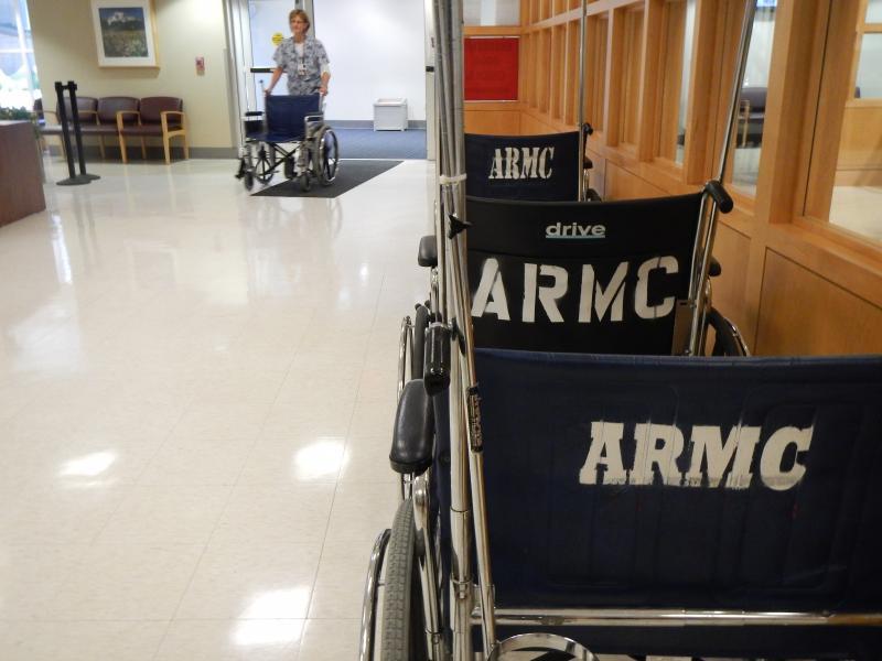 A slow day at MultiCare Auburn Medical Center (formerly Auburn Regional Medical Center).