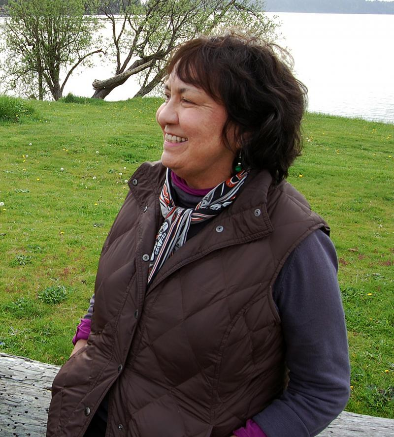 Sandy Osawa is a local filmmaker and a member of the Makah Tribe. She and her husband Yasu have been creating documentaries for four decades.