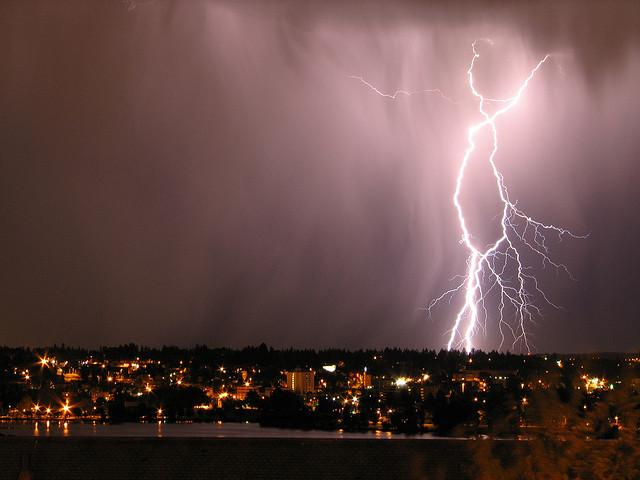 Seattle experienced a spectacular lightning storm over the weekend, a NOAA safety specialist explains tips to avoid being struck.