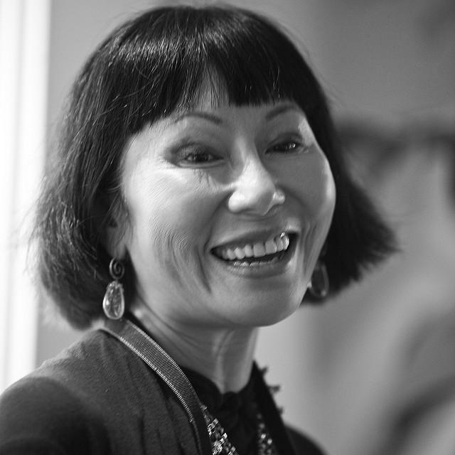 Author Amy Tan.