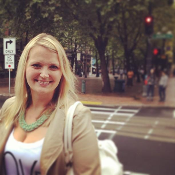Pioneer Square resident and blogger, Jen Kelly.