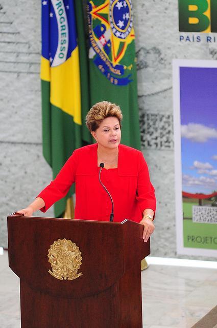 Brazilian President Dilma Rousseff.