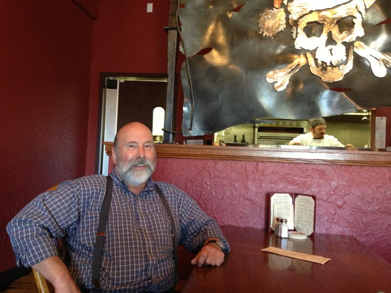 Maritime Pacific Brewing Company & Jolly Roger Taproom's founder George Hancock.