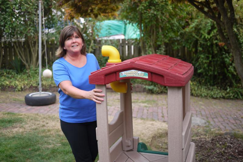 West Seattle day care provider Robin Stevens.