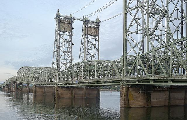 The I-5 crossing of the Columbia River is a point of contention in the transportation package.