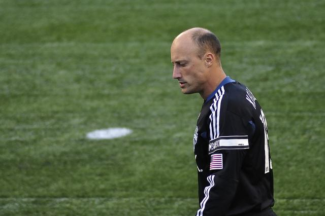 Former Seattle Sounders FC goalie turned broadcaster Kasey Keller.