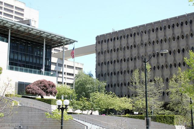 Seattle City Council complex.