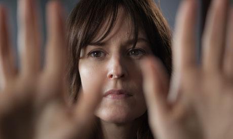 "Rosemary DeWitt in director Lynn Shelton's newest film ""Touchy Feely."""