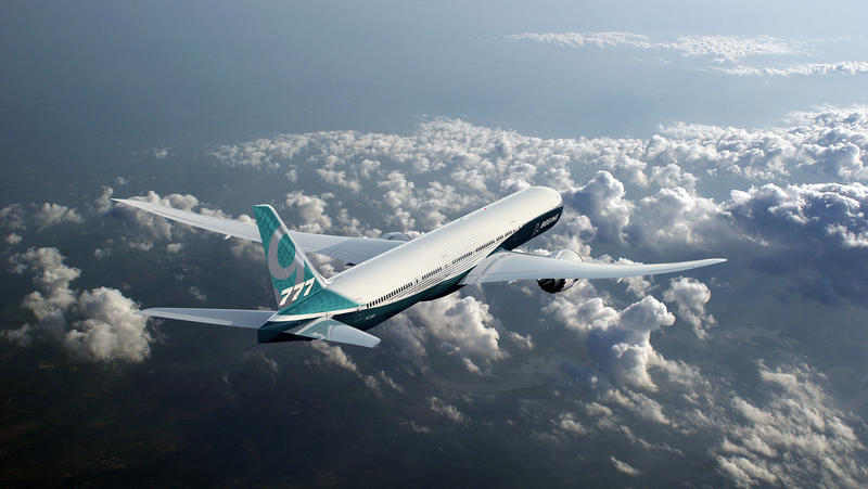 Boeing 777x prototype