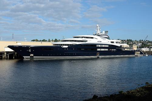 Serene has been at Pier 90 in Seattle since August 18.