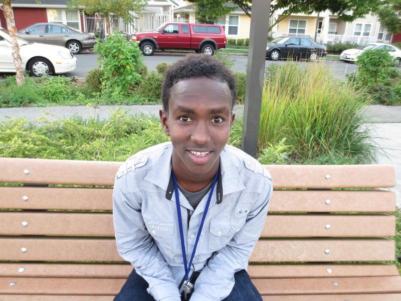 Hassan Abdi, Junior, Foster High School