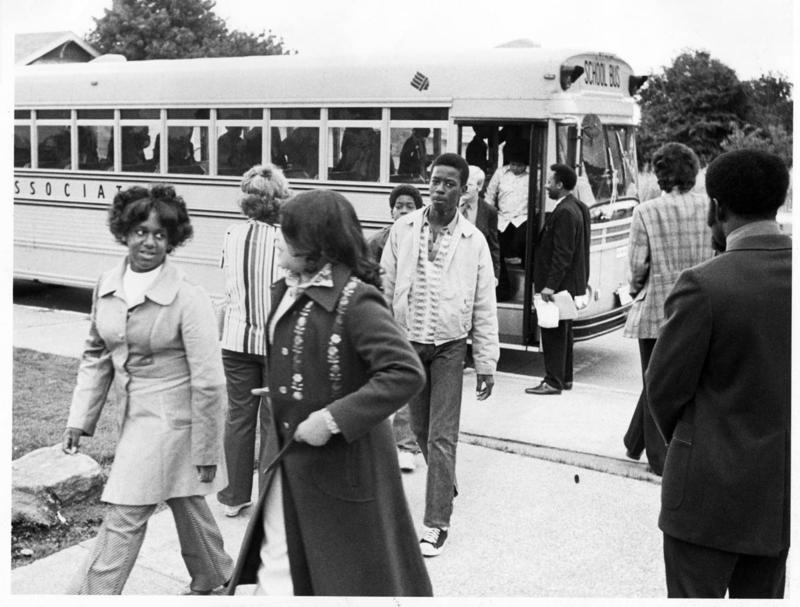 Seattle was the first major city to voluntarily adopt a comprehensive desegration policy. The busing program lasted from 1972 to 1999.