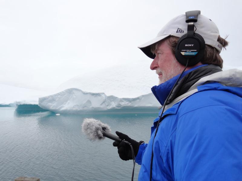 Neal Conan in Greenland.