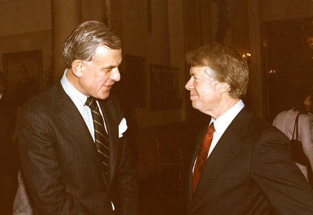 Tom Foley with former President Jimmy Carter in 1976.