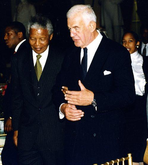 Nelson Mandela and Tom Foley, who died today at the age of 84.