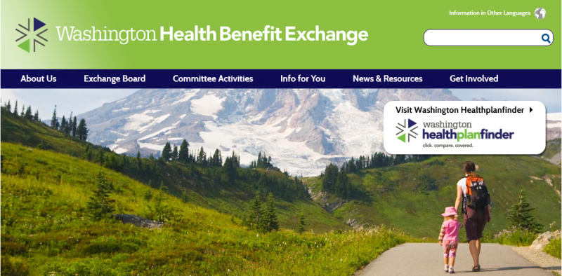 Wahealthplanfinder.org, Washington's online health exchange, which has been experiencing outages in the last week.