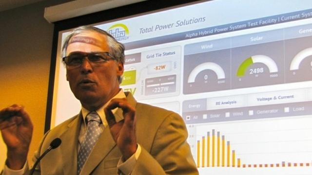 California, Oregon, Washington and British Columbia will will announce a plan Monday to align carbon reduction efforts. Wash. Gov. Jay Inslee has long been a champion for clean energy.