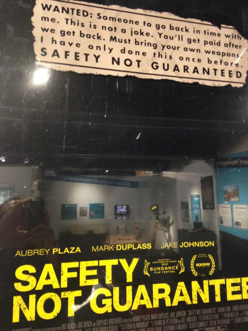"""Safety Not Guaranteed,"" 2012"