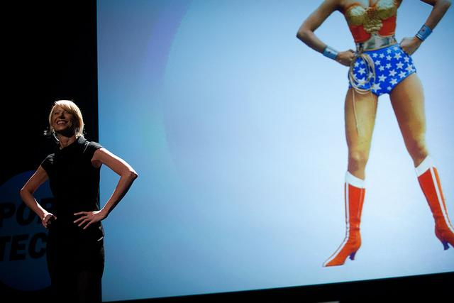 Amy Cuddy speaks on how changing posture and pose can biologically imbue a person with power and confidence at PopTech 2011.