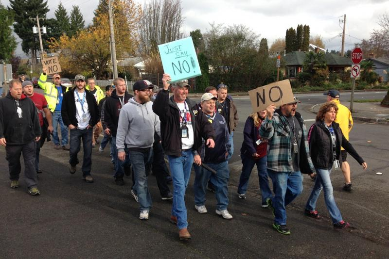 Machinists voted against a contract offer from Boeing earlier in November. Everett Mayor Ray Stephanson is trying to bring the two sides together in negotiations again.