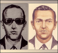 Renderings of the hijacker who came to be known as D.B. Cooper.