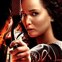 "Katniss Everdeen, the heroine from book series and film franchise the ""Hunger Games."""
