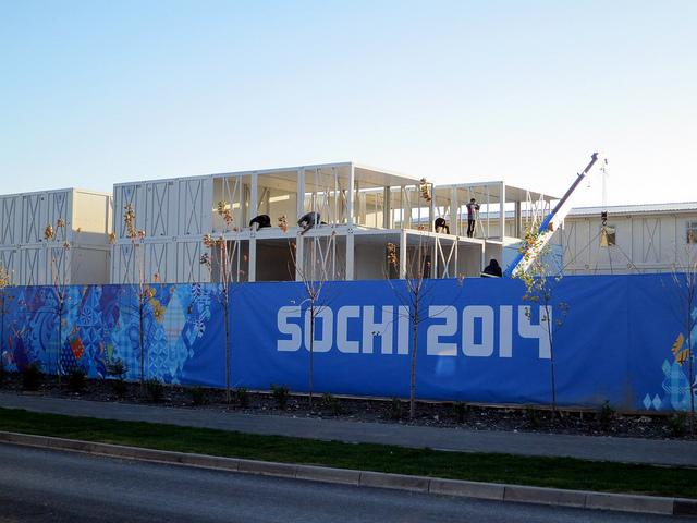 Sochi is busy preparing for the upcoming Winter Olympics, but what's the atmosphere beyond the hype?