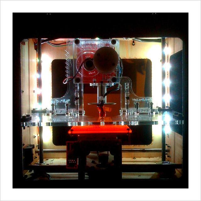 A 3-D printer.