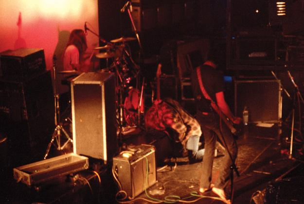 Nirvana's set took a tumultuous turn at the Piper Club in Rome in November 1989.