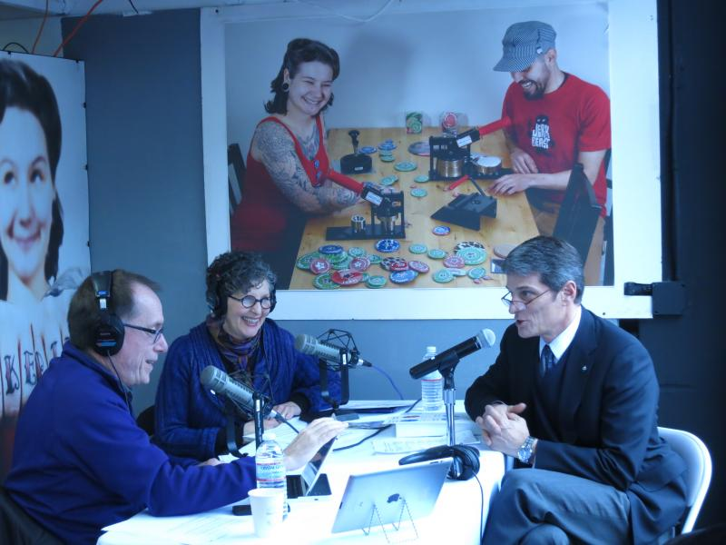 Co-hosts Ross Reynolds and Marcie Sillman chat with Metro's Kevin Desmond live on The Record