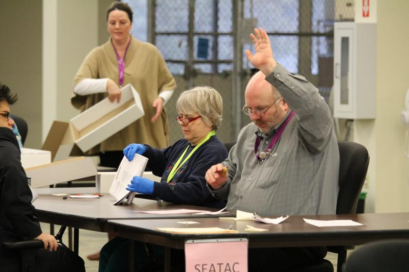 King County election workers indicate they have completed tallying ballots in SeaTac recount