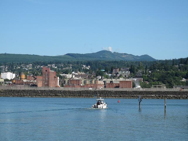 Bellingham, Washington's waterfront.