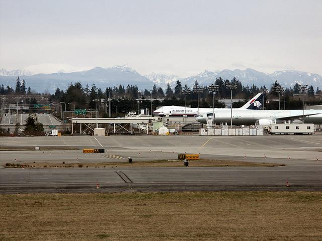 Boeing's Everett, Wash., production plant.
