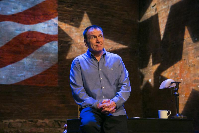 "Colin Quinn on his solo comedy tour ""Unconstitional."""