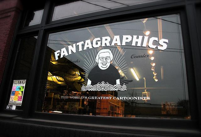 Fantagraphics Books in Georgetown, Seattle.