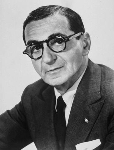 'White Christmas' composer Irving Berlin.