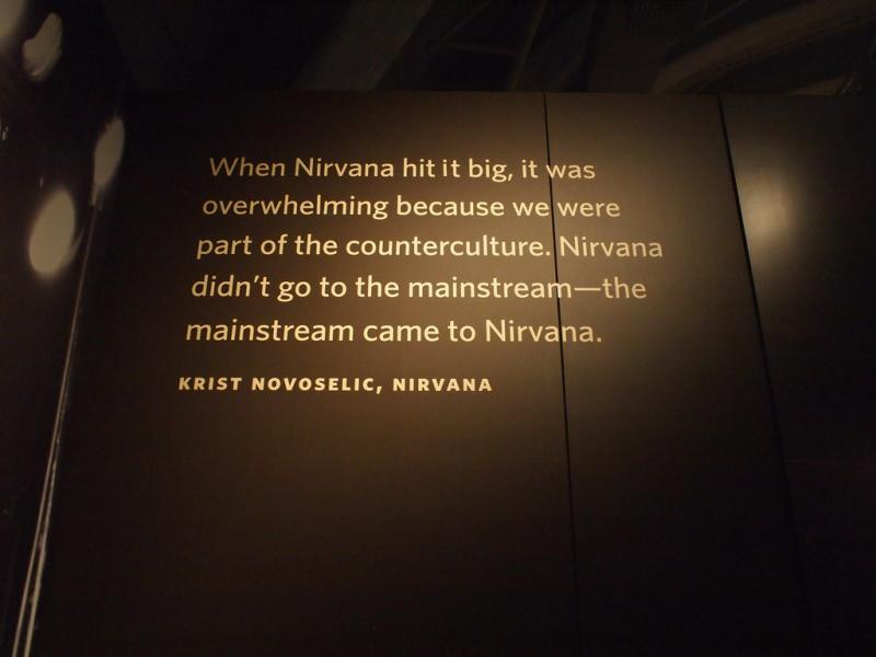Seattle's Experience Music Project has a collection of Nirvana material as part of celebration of the band's 20th anniversary of their album In Utero. Now, the band is receiving another honor by being inducted into the Rock and Roll Hall of Fame.