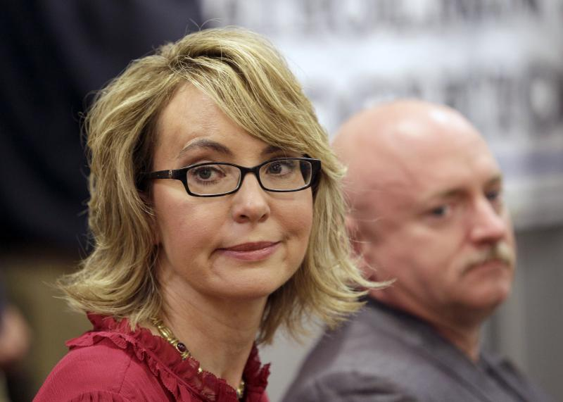 Former Arizona Rep. Gabrielle Giffords and her husband, Capt. Mark Kelly, a retired astronaut and combat veteran, are leading a national campaign for expanded background checks for gun sales.